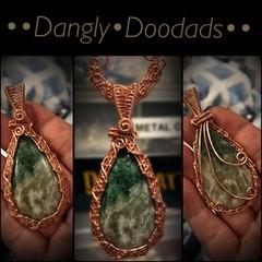 Green Aragonite Pendant
