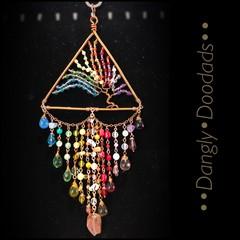 Rainbow Tree of Life Suncatcher