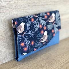 Ladies Wallet -Clutch - Australian Native Finches
