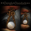 Blue Lace Agate Drop Pendant