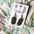 Glamour Oval Dangles