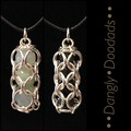 Chainmaille Beadcage Pendants (6x available)