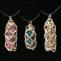 Chainmaille Beadcage Pendants (10x available)