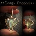 Labradorite Triangle Mini Pendant