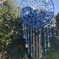 Whale and Moon Chimes