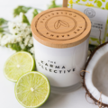 Coconut, Lime & Elderflower Soy Wax Candle