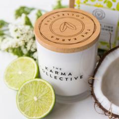 Coconut, Lime & Elderflower Soy Wax Candle
