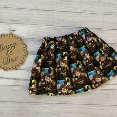 Harry Potter Skirt, Size 2, Girls Skirts