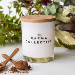 Cacao & Amber Soy Wax Candle