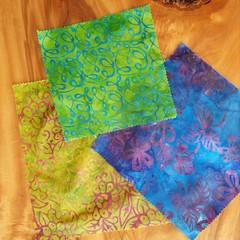 "Beeswax Wraps ""Batik"""