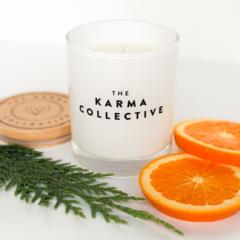 Spiced Orange & Cedarleaf Soy Wax Candle