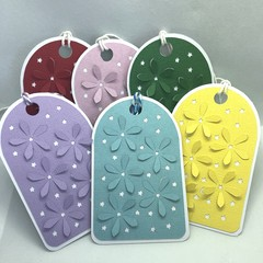 Set of Six Gift Tags