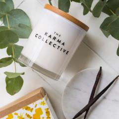 Vanilla & Caramel Soy Wax Candle