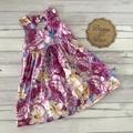 Floral Tea Party Dress, Size 5, Girls Dresses
