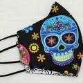 face mask, 3 layers, 100% cotton, womans size