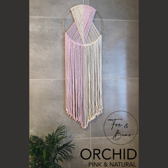 Handmade wall hanging. Design ORCHID