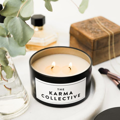 Lychee & Peony Scented Soy Candle Tin