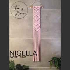 Handmade macrame wall hanging. Design NIGELLA