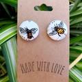 Bee Studs 19mm