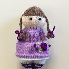 Romy- Hand Knitted Doll