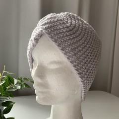 Light blue knitted headband FREE postage