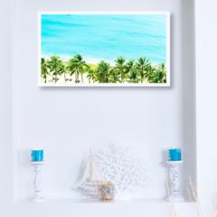 Tropical Island Paradise Print
