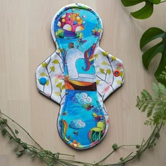 """10"""" heavy exposed core cloth pad (Versodile Moonrise - Wrap Wing)"""