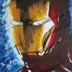 Iron Man Fine Art Print | Marvel Avengers, Tony Stark, Superhero | Giclee Print