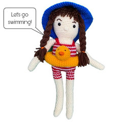 Swimming Suzy - from the Red George cuddle crew