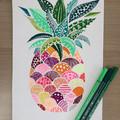 Pineapple patterns