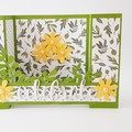 CLEARANCE SALE - Celebrate 3D Birthday Card, Yellow Flowers