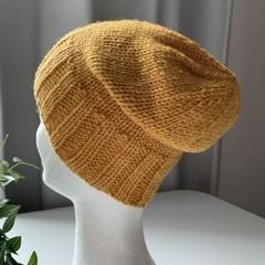 Handmade Pure Wool Kids Beanie