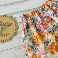 Floral Skirt, Size 0 2 or 3, Girls Skirts