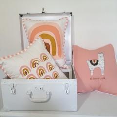 Cushion set,  nursery cushions, rainbow cushions, nursery decor