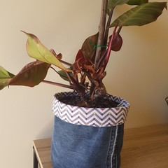 CHEVRON Recycled Pot Cover