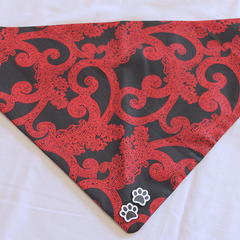 Red Paisley - Dog Bandana