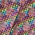 Rainbow piggies girls kids size 6 Capri (3/4 length) leggings