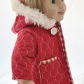 Quilted Jacket with Hood - fully lined