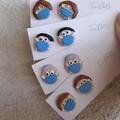 Face mask friends, Healthcare hero's earrings