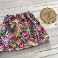 Floral skirt, Size 4, Girls Skirts