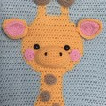 Giraffe Wall Hanging: READY TO POST, Baby Nursery DecoratIon