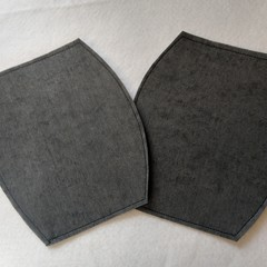 Filter pack for convertible cloth facemasks