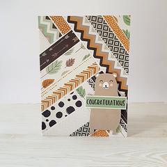 Congratulations, Woodland Baby Card