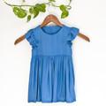 Eco Silk Fluttersleeve Toddler Dress Size 2