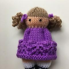 Shannai - Hand Knitted Doll