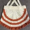 Hand crochet swing top