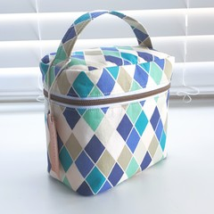 Harlequin Beauty Case Bag
