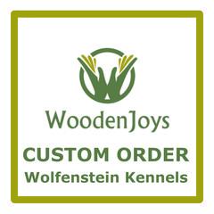 Custom Order - Wolfenstein Kennels