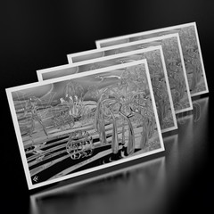 Reaching Out To Where I Came From - Mini Cards