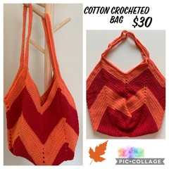 Crocheted Cotton Bag